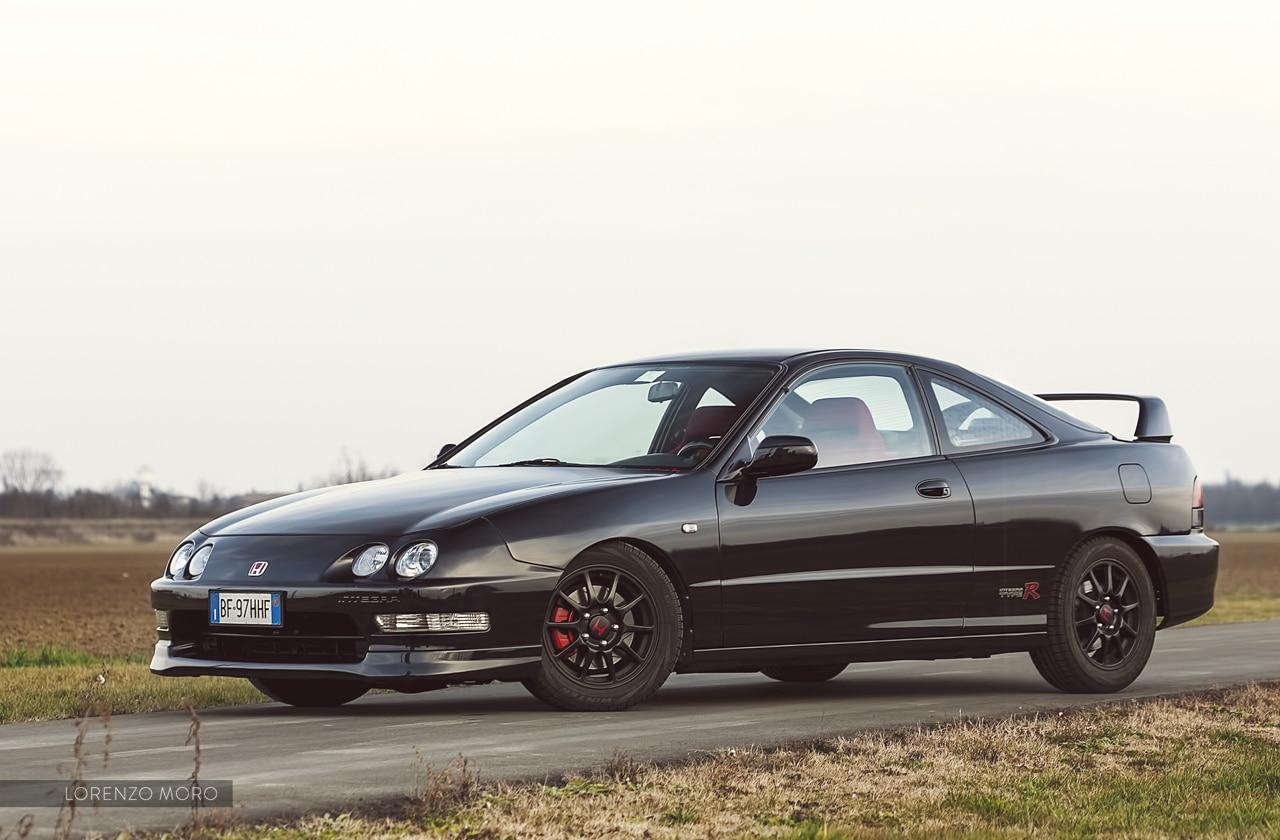 Honda Integra Type R nera