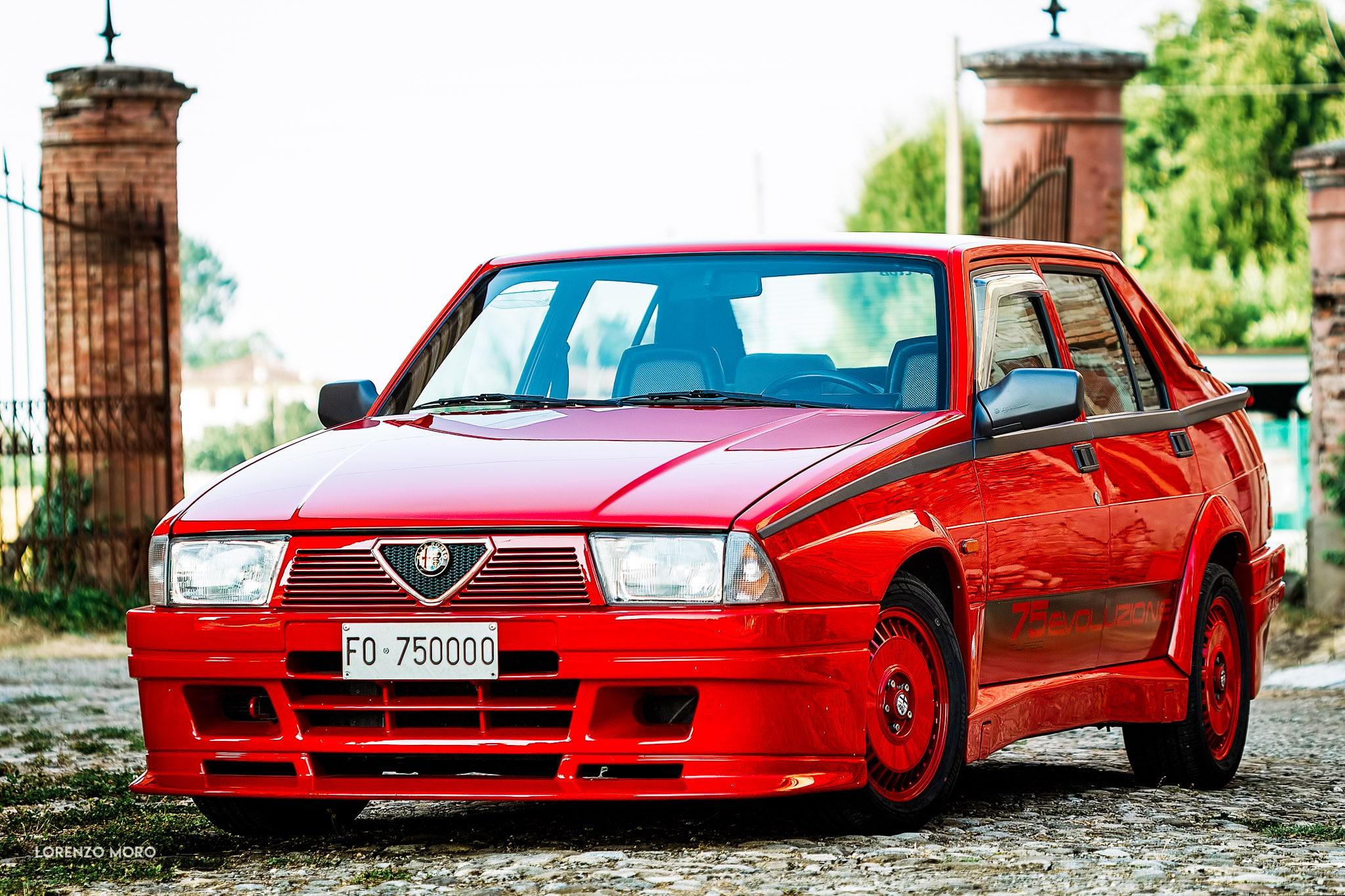 Alfa 75 Turbo Evoluzione Rollingsteel It Il Ferro E Servito
